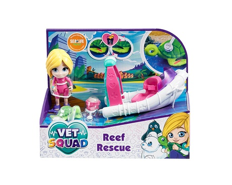 Vet Squad Reef Rescue box set