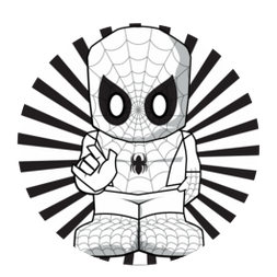 Spider-Man Colouring Activity