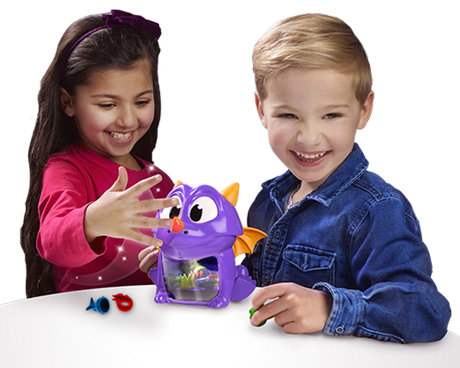Children playing Dragon Snacks game