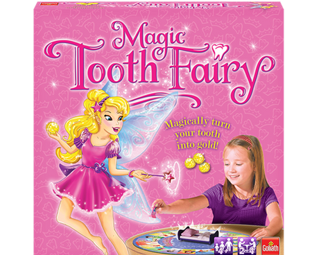 Magic Tooth Fairy game box