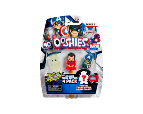 Marvel Ooshies 4 pack