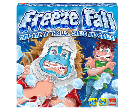 Freeze Fall game box