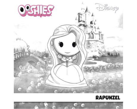 Rapunzel Colouring Activity