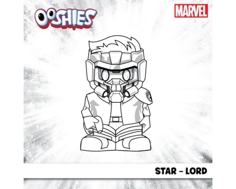 Star-Lord Colouring Activity