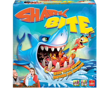 Shark Bite game box