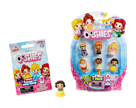 Disney Princess Ooshies blind bag and 7 pack