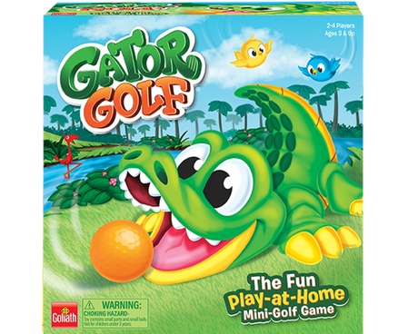 Gator Golf game box
