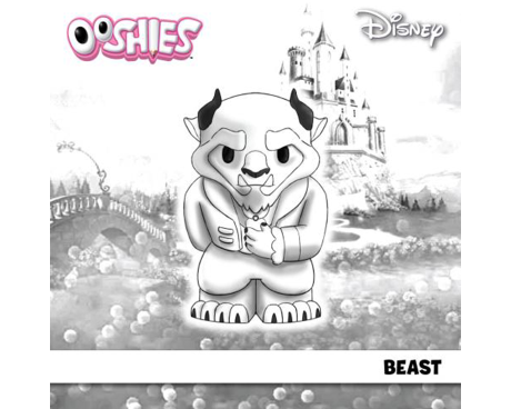 Beast Colouring Activity
