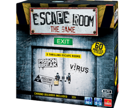 Escape Room game box