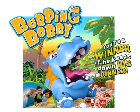 Burping Bobby game box