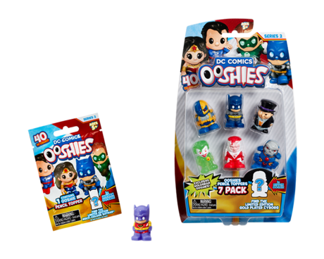 DC Comics Ooshies blind bag and 7 pack