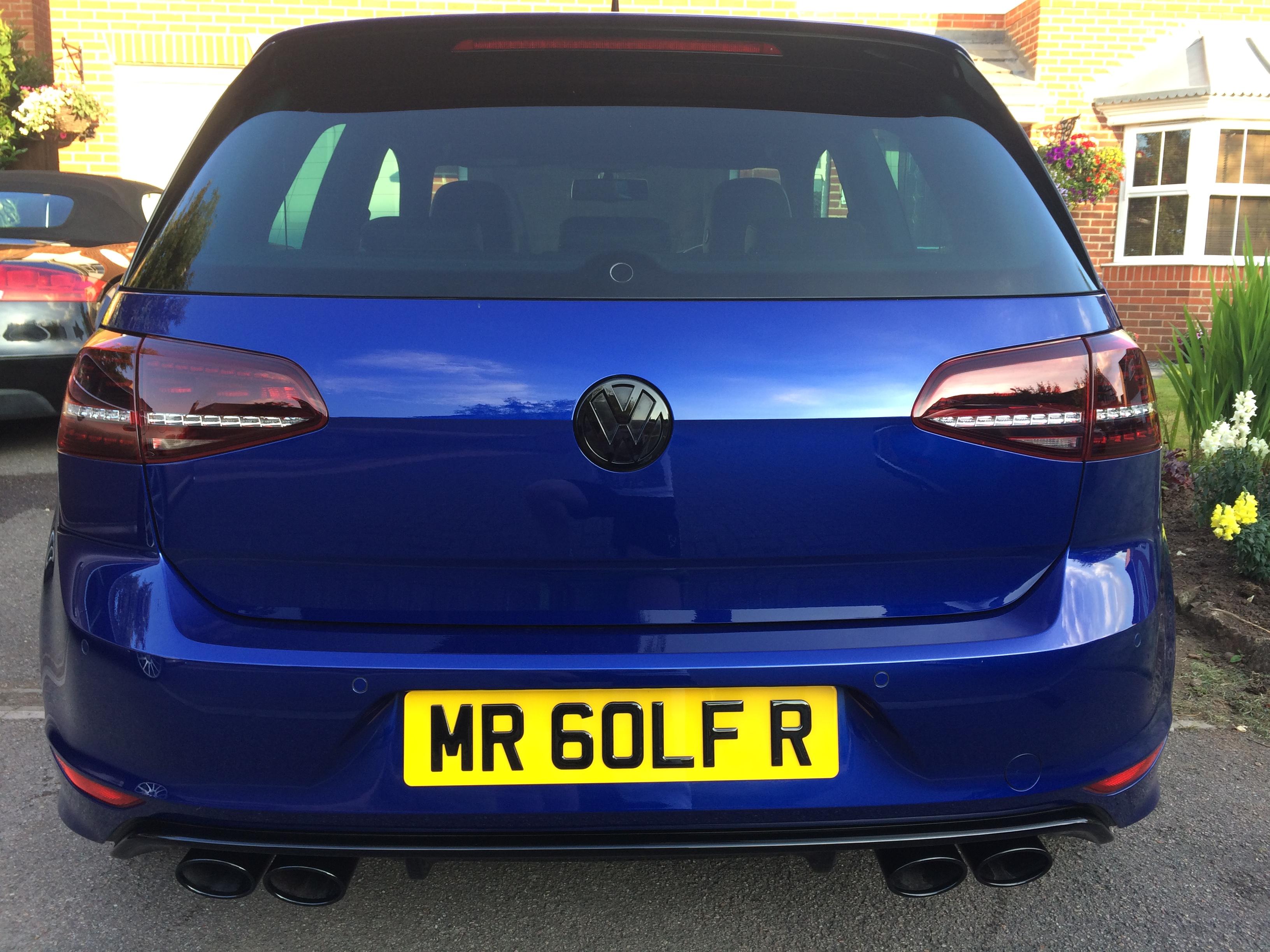 Removing Exhaust Tips - Modifying your Golf R MK7 - VWROC - VW R