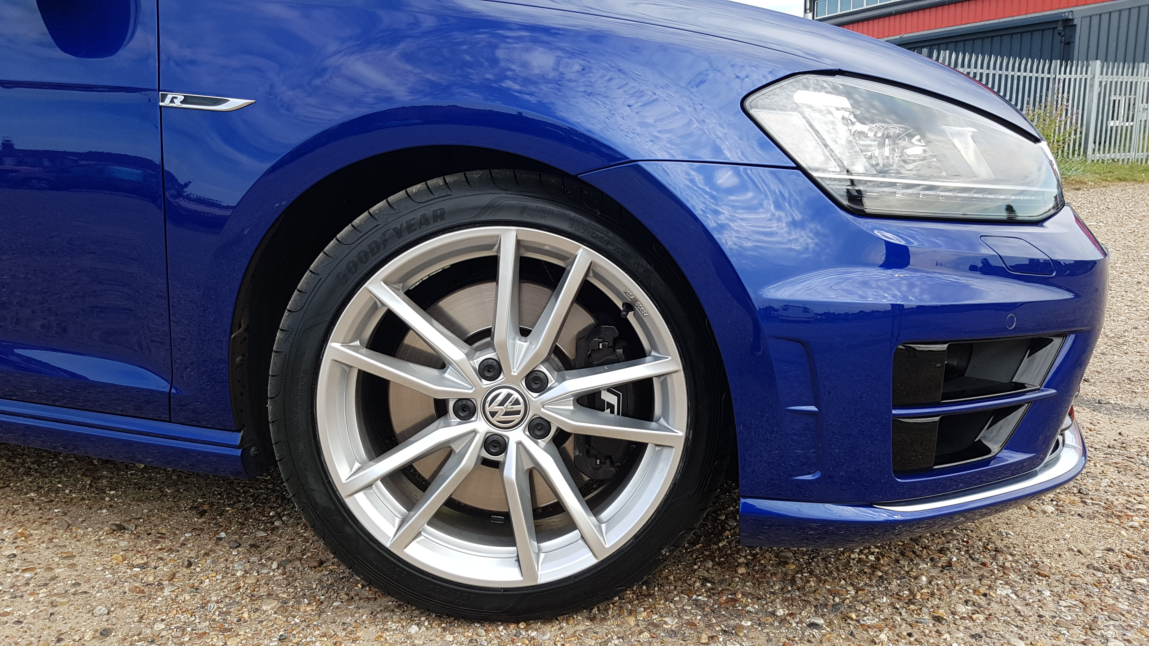 18 Inch Pretorias In Sterling Silver Fitted Installed Modifying Your Golf R Mk7 Vwroc Vw R Owners Club