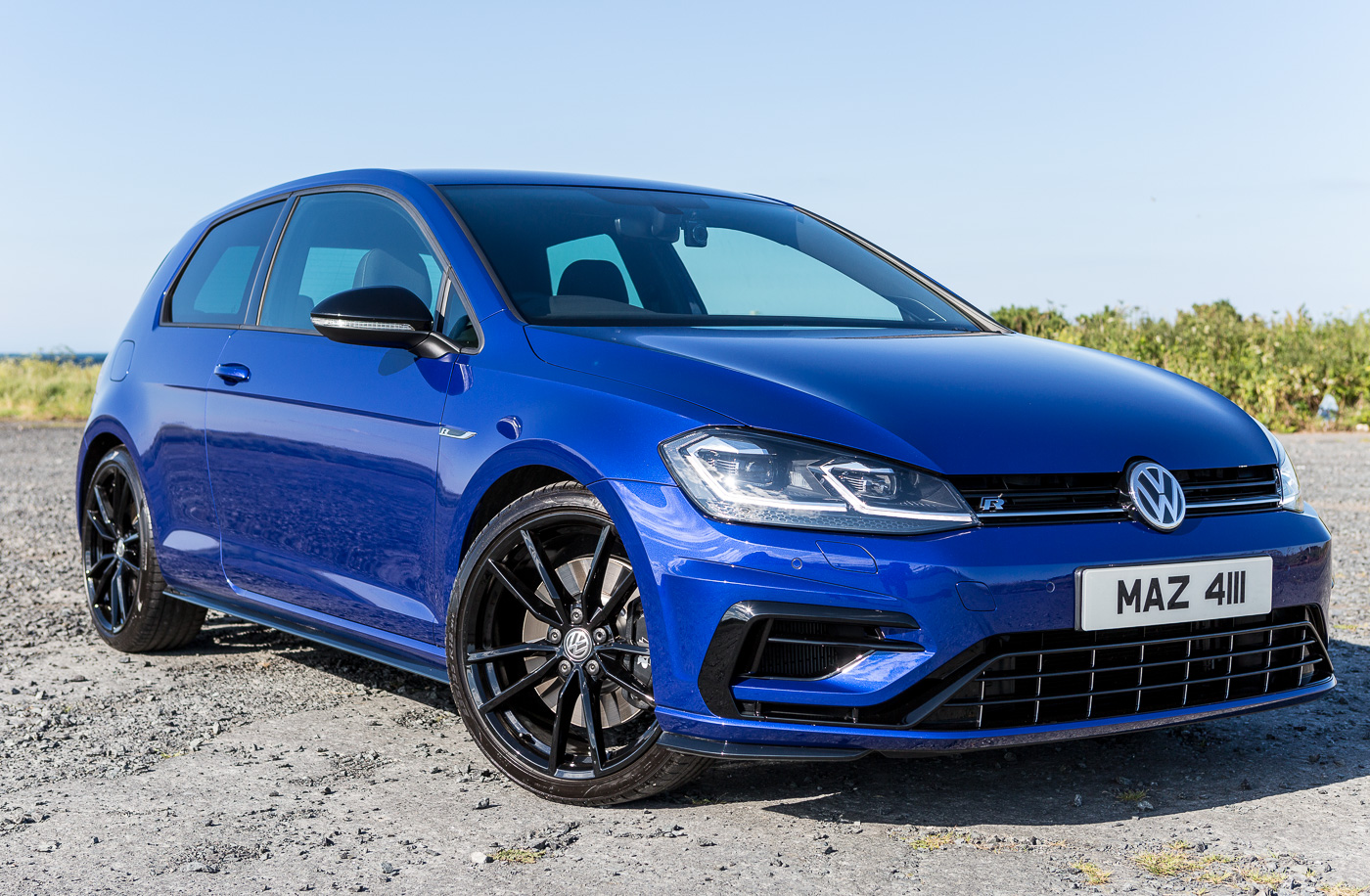 my golf r 7 5 3 door lapiz blue 7r member s rides vwroc vw r