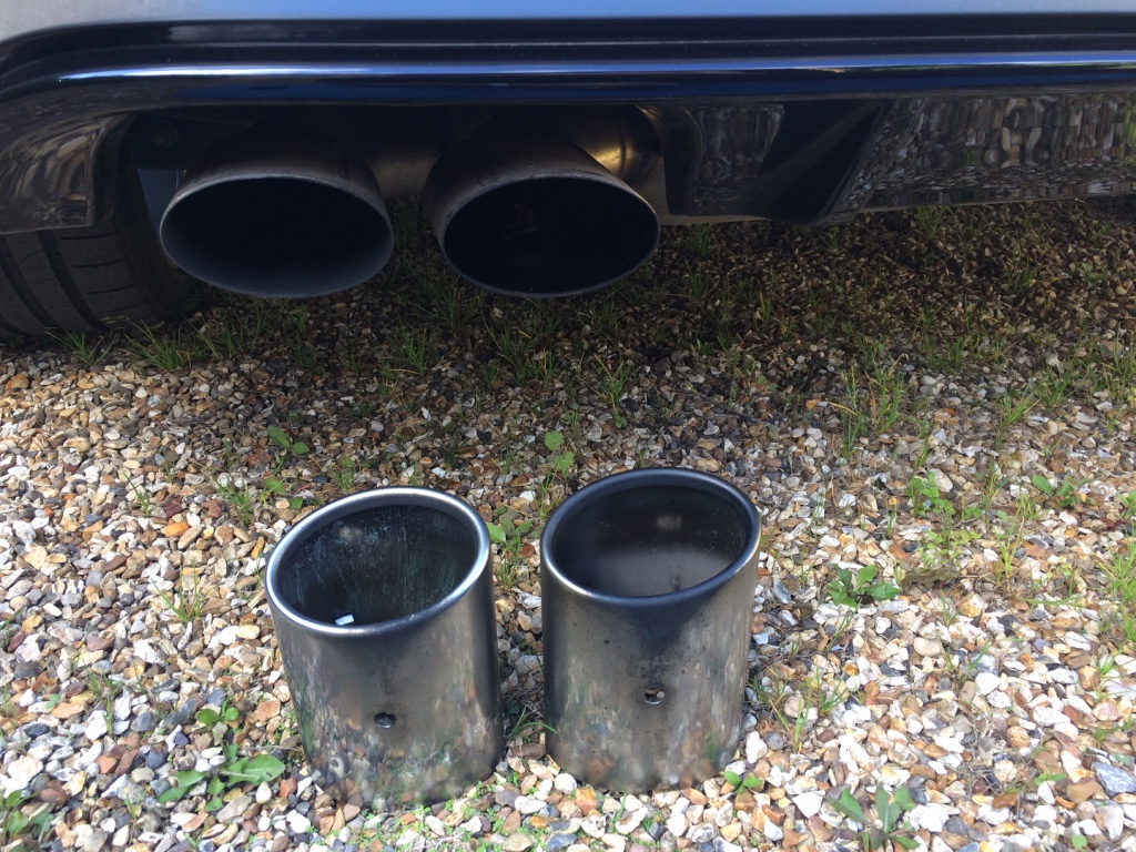 Stock Exhaust tip removal - VW Golf R MK7 Chat - VWROC - VW R Owners