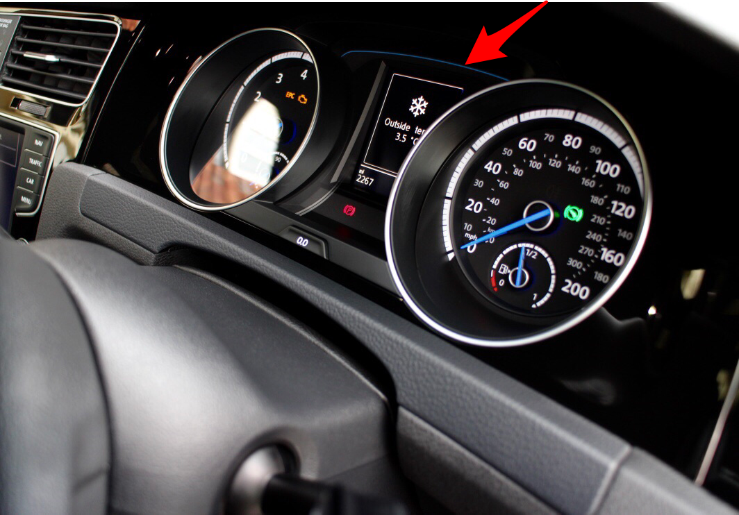 Ambient Lighting On Dash Wont Come On Vw Golf R Mk7 Chat