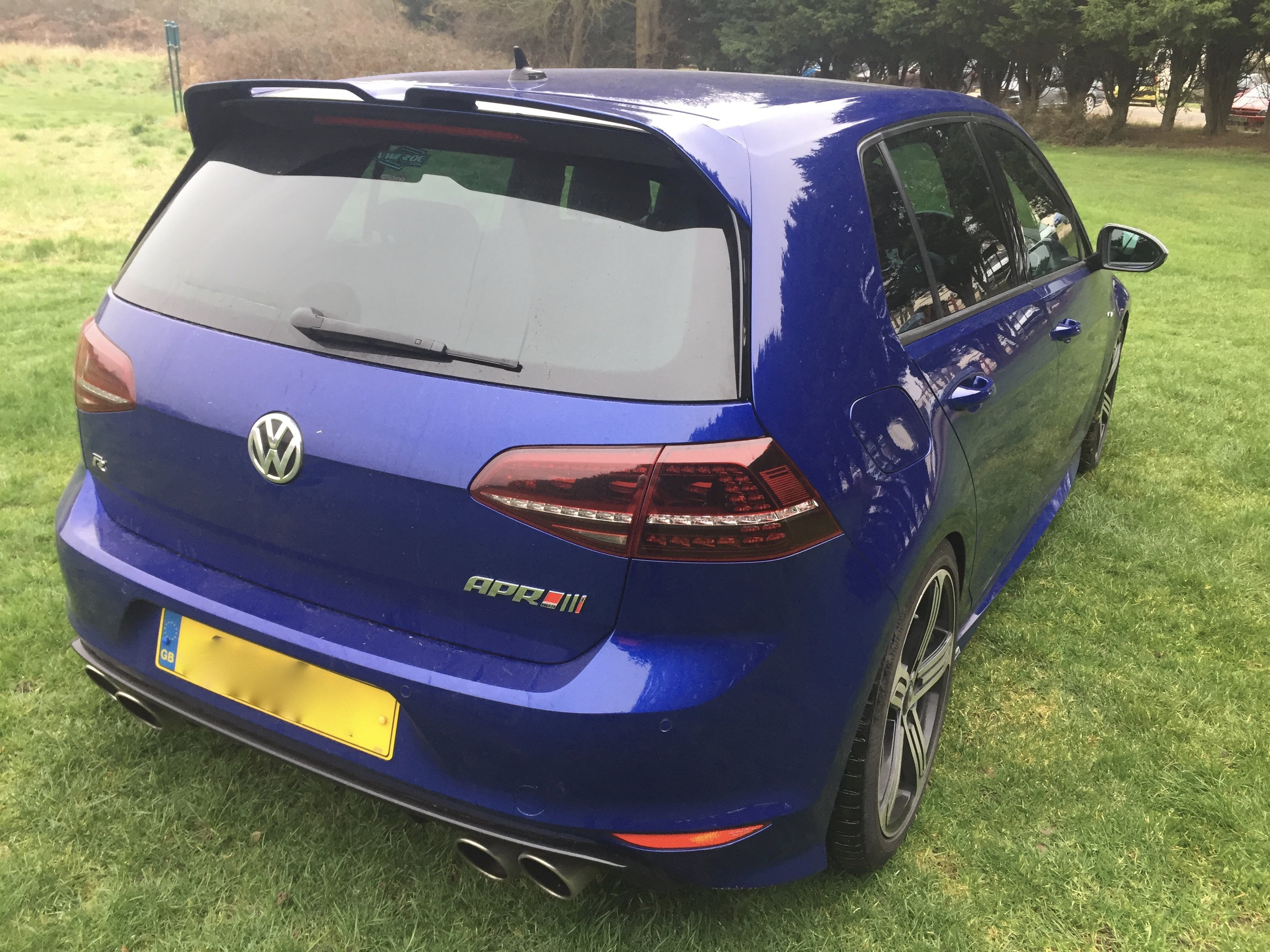 oettinger spoiler photo thread modifying your golf r mk7. Black Bedroom Furniture Sets. Home Design Ideas