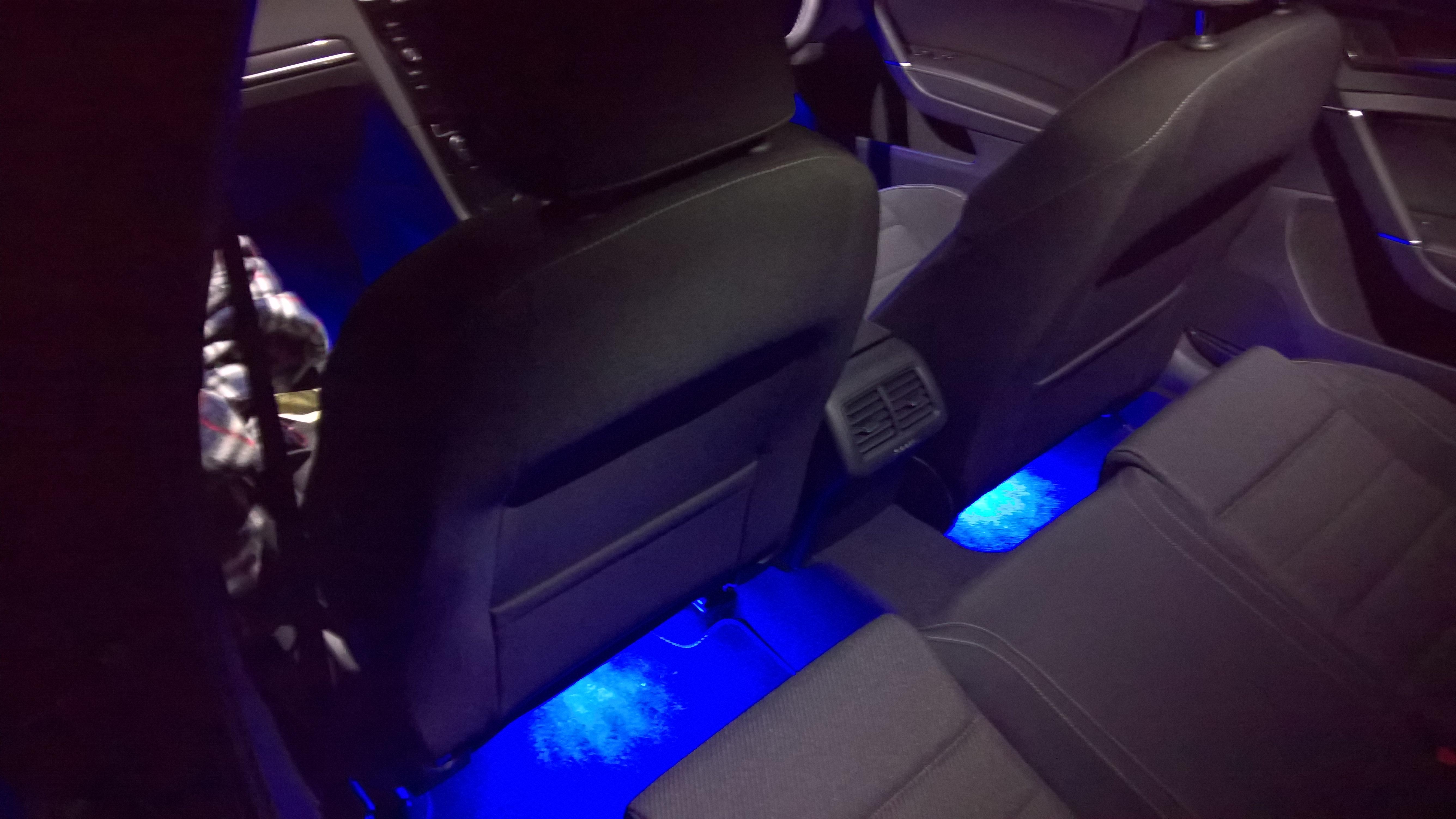 Rear Led Footwell Lights Modifying Your Golf R Mk7 Vwroc
