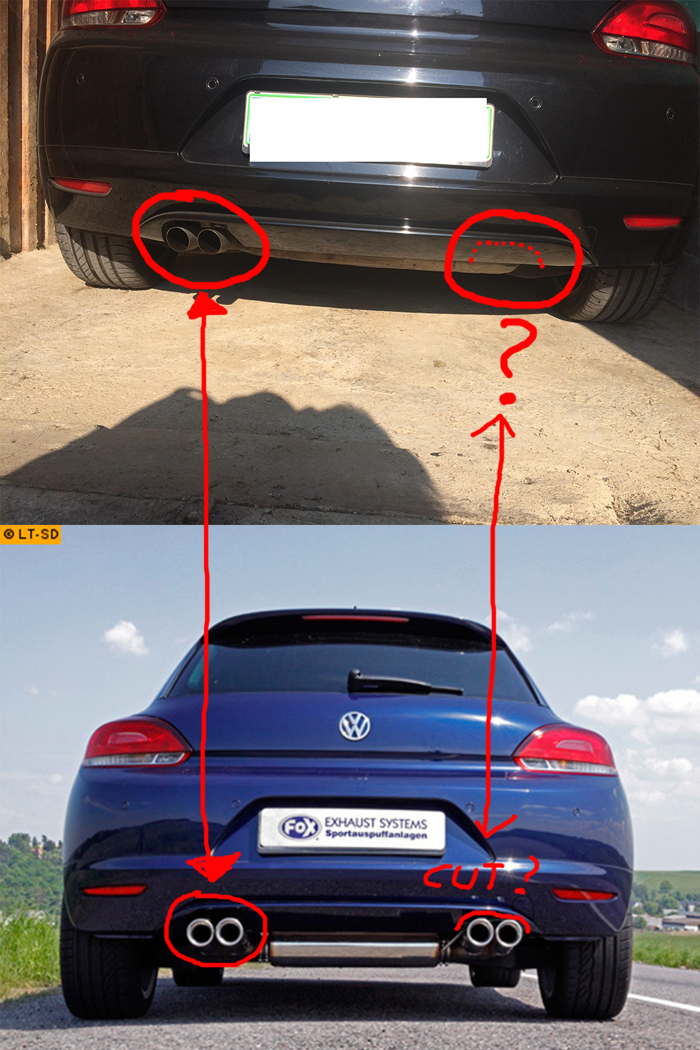 Scirocco Tdi Exhaust Modifying Your Scirocco R Vwroc Vw R Owners Club