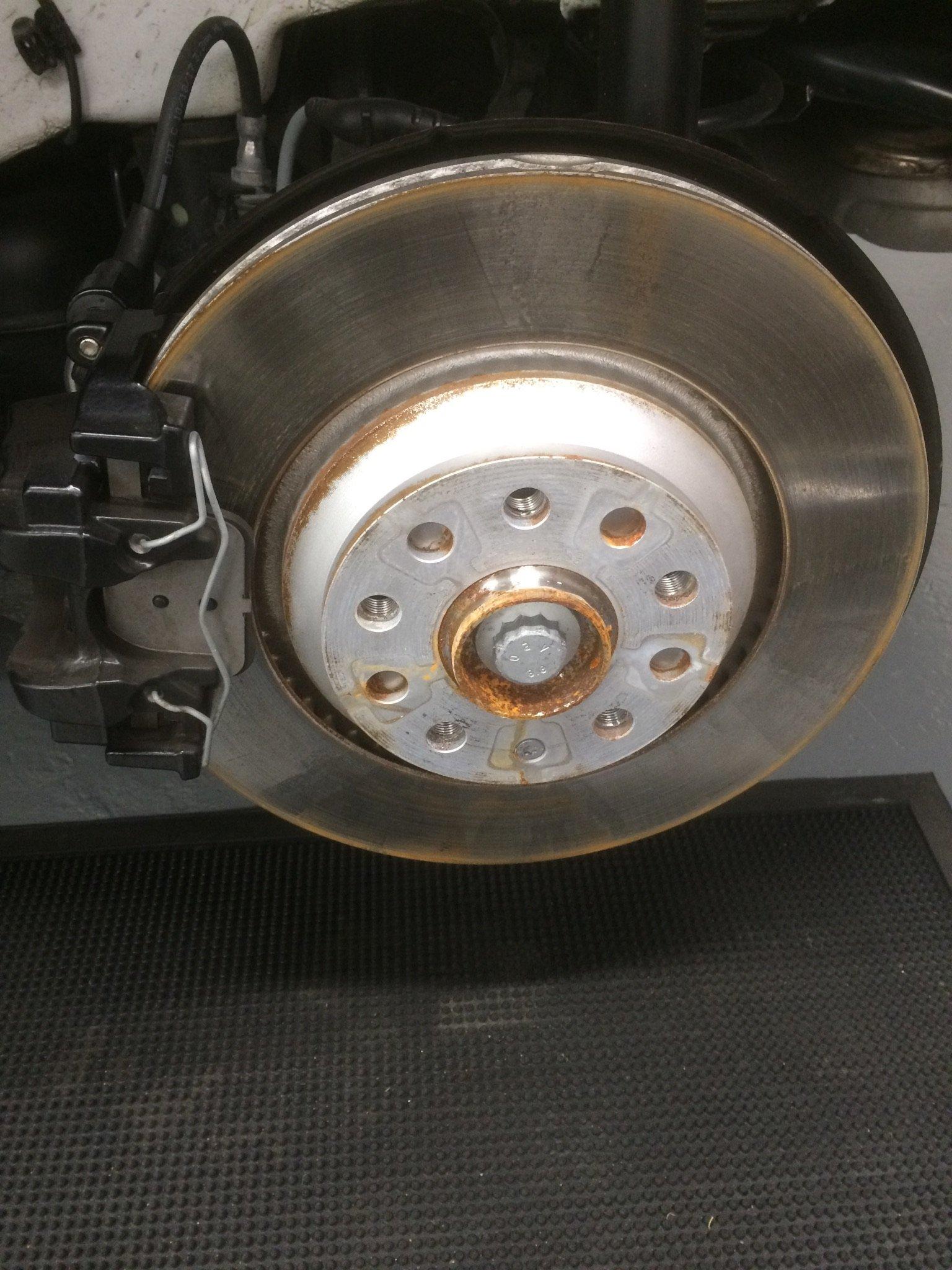 Rust in Wheel Hubs - VW Golf R MK7 Chat - VWROC - VW R