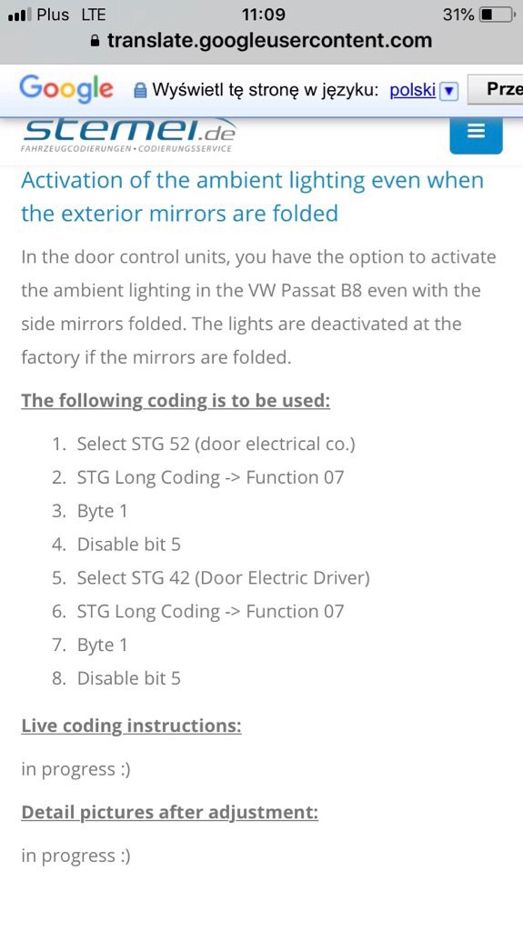 how to code - OBDEleven - VWROC - VW R Owners Club