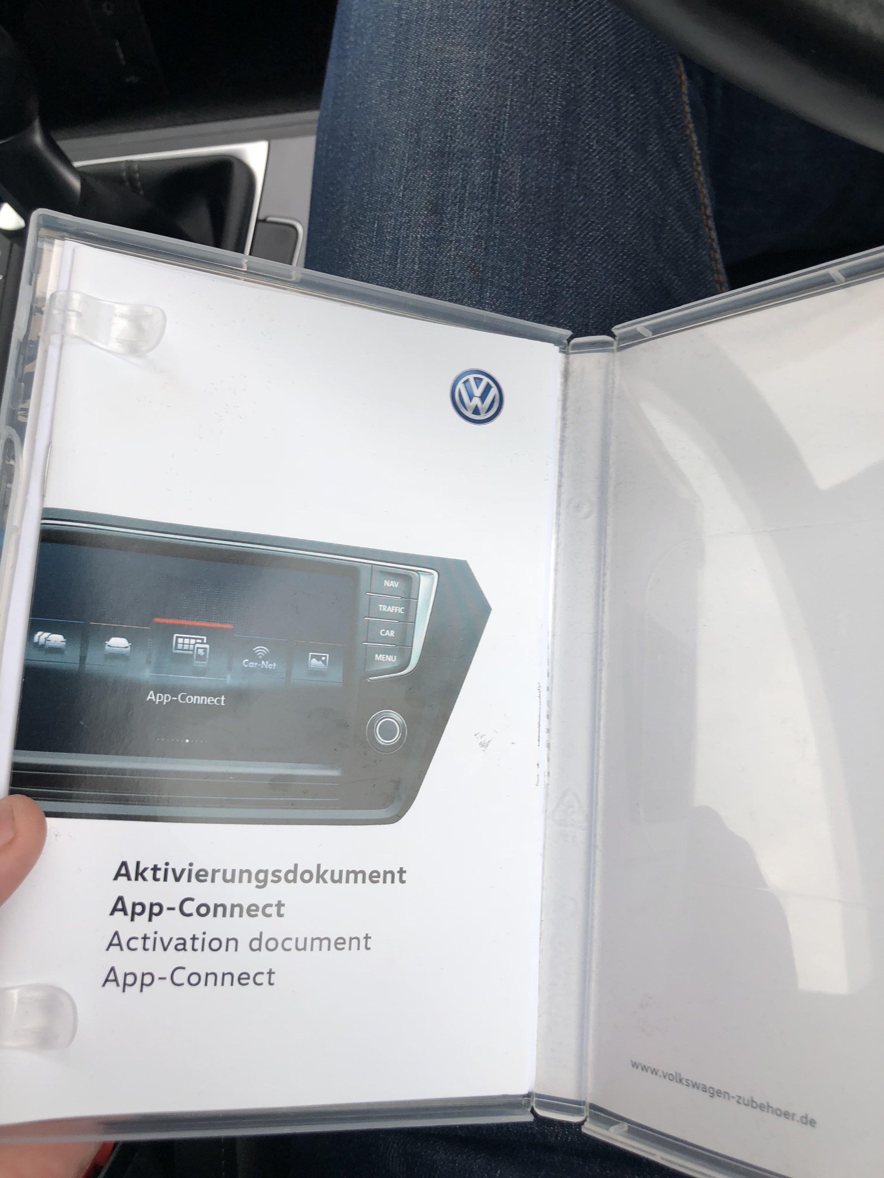 App connect - VW Golf R MK7 Chat - VWROC - VW R Owners Club