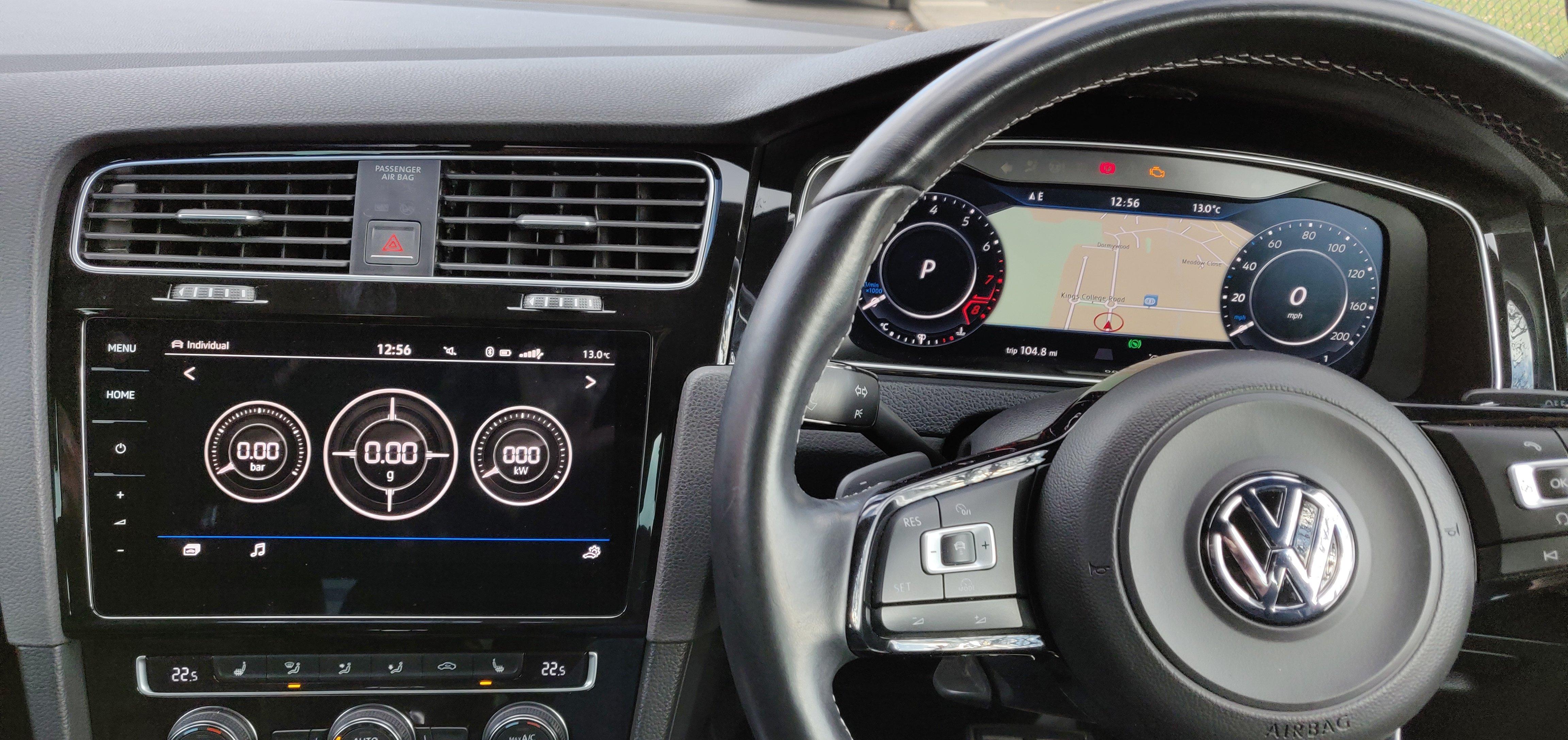 Digital Cockpit (Active Info Display) & 9 2