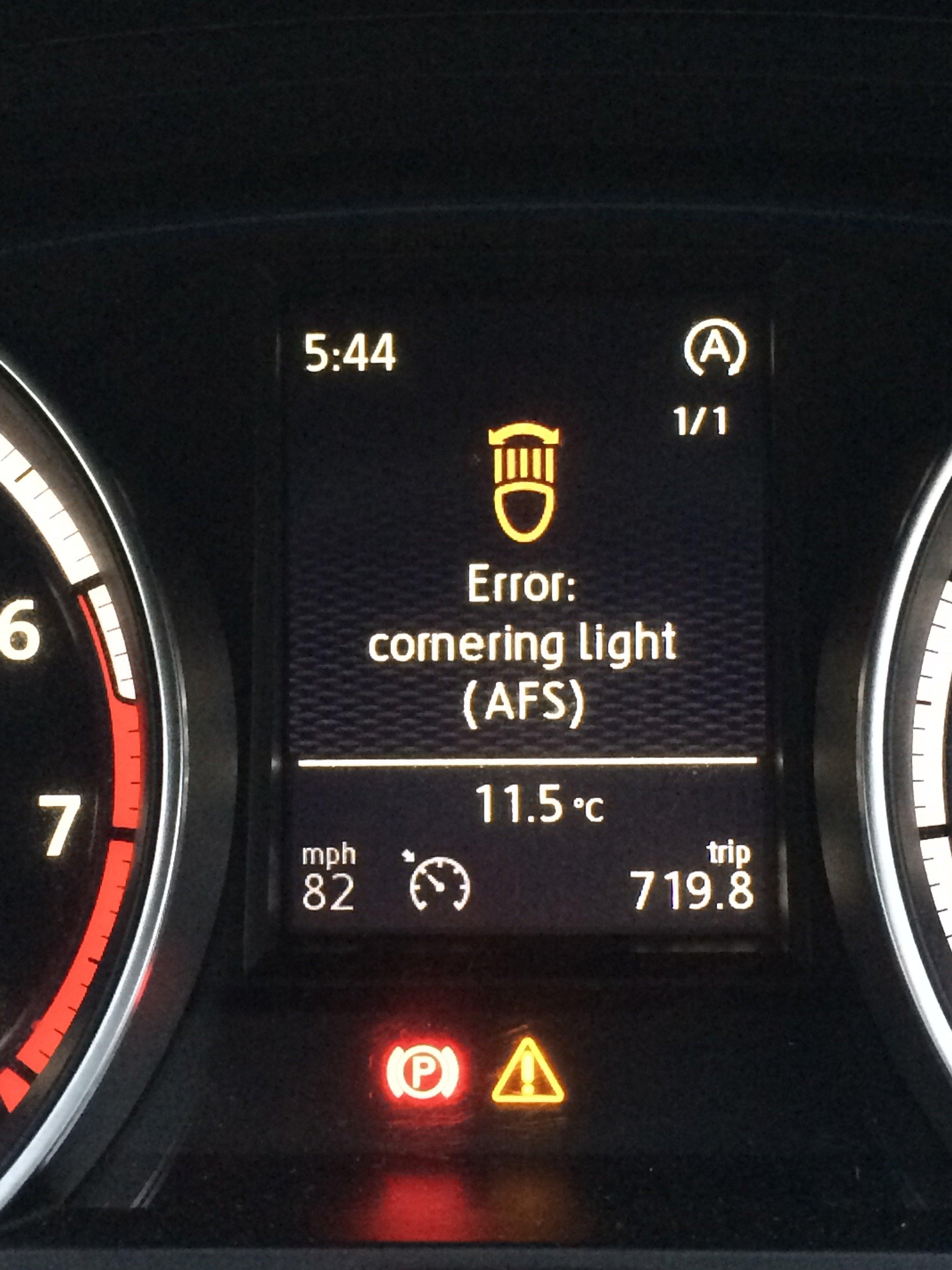 Cornering light - VW Golf R MK7 Chat - VWROC - VW R Owners Club