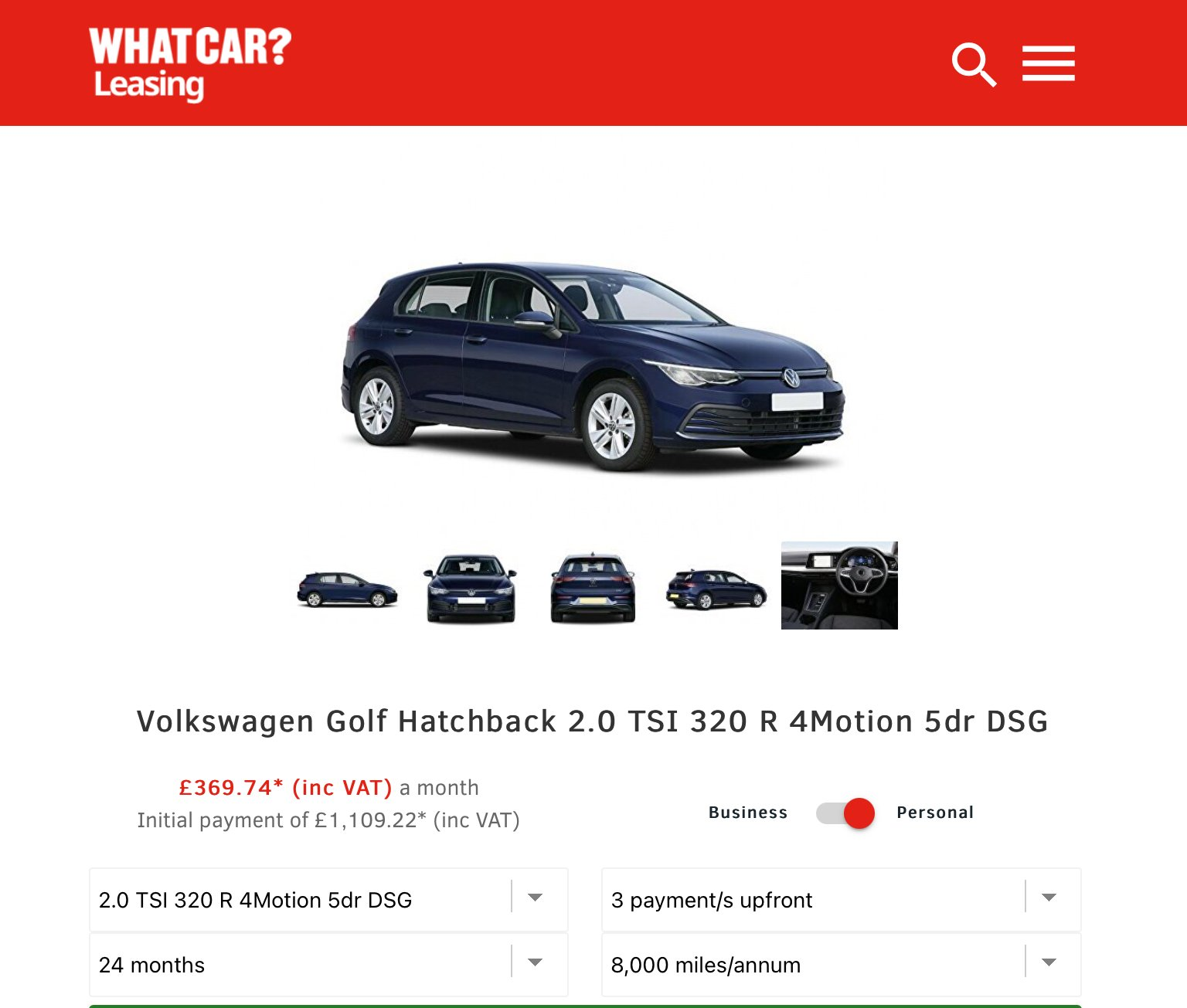 Mk8 Lease And Pcp Deals The Lease Board Vwroc Vw R Owners Club