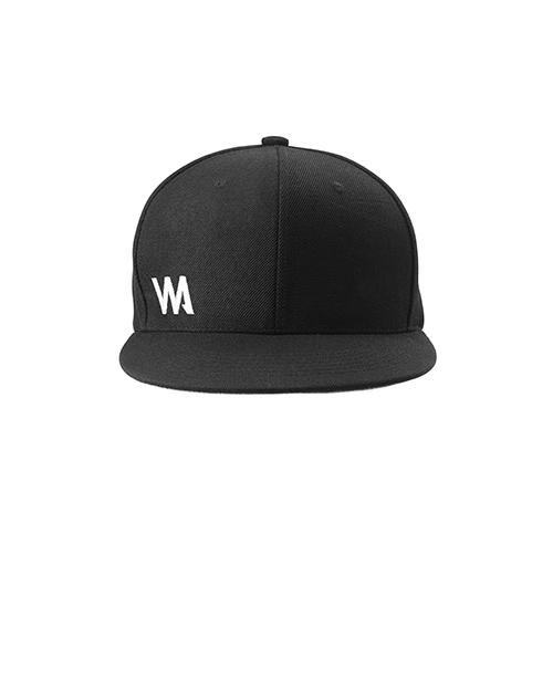 warrior addict. black 6 panelled  baseball cap