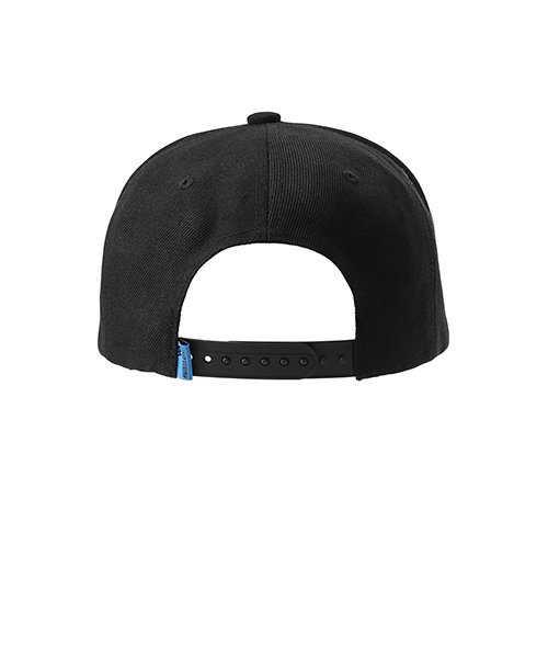 Warrior Addict Black 6 panelled baseball cap