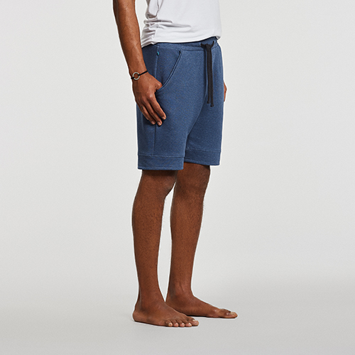 Men's Yoga Shorts Blue