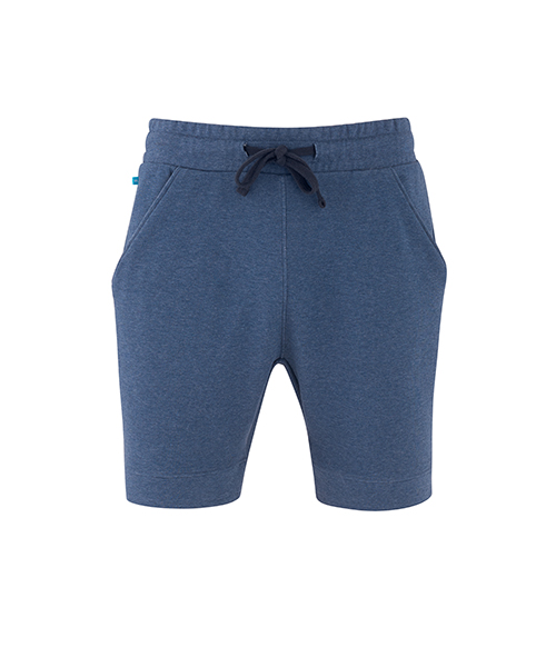 Mens Yogi Shorts Blue