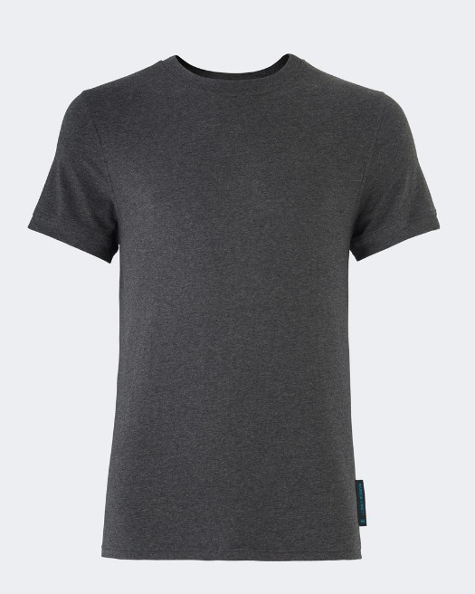 Performance Yoga T-Shirt XX - Grey Front View