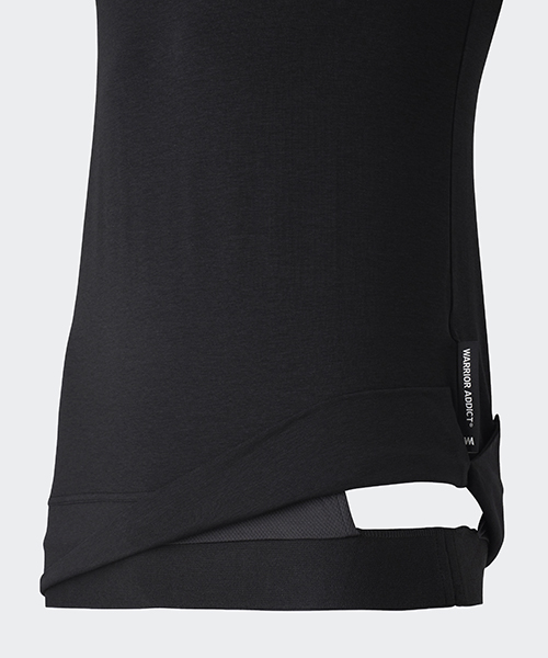 warrior addict inversion tank black