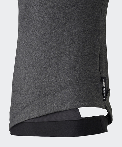 warrior addict grey inversion tank