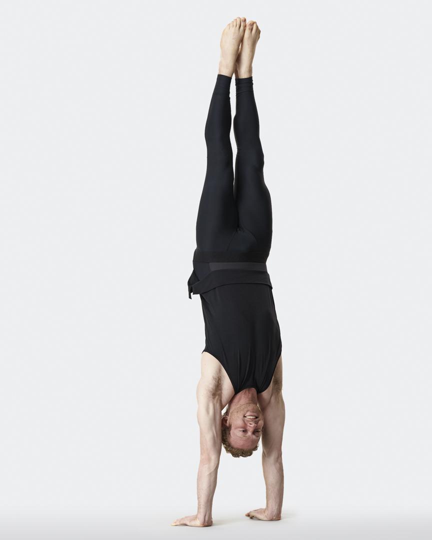 warrior addict mens yoga inversion tank Jacob Mellish handstand