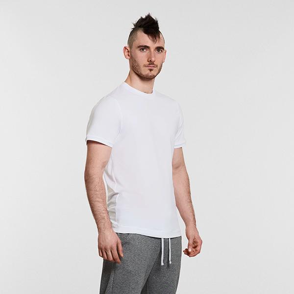mens yoga top white