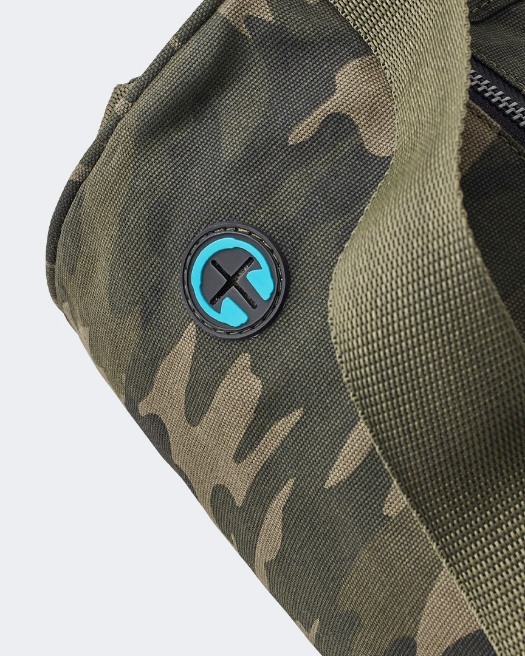 Warrior extra large Yoga Mat Bag in camo  - Headphone Hole