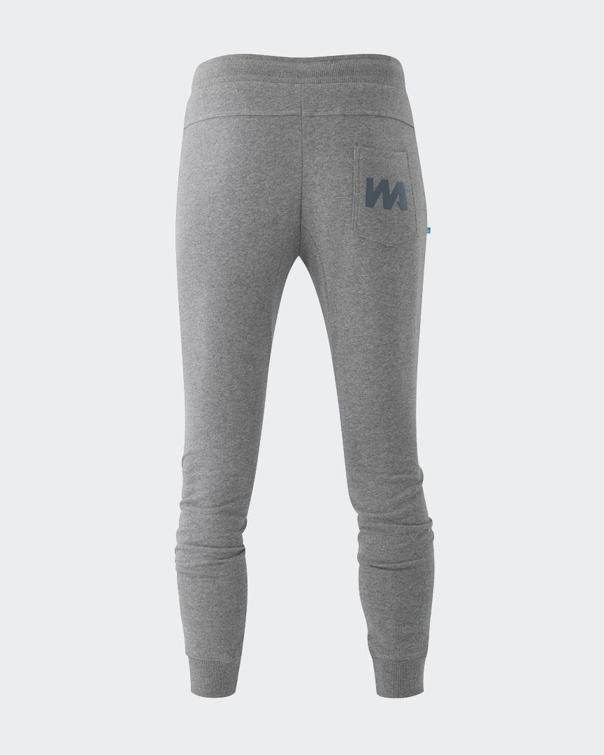 Warrior Addict eco-warrior sweat pants in grey back view