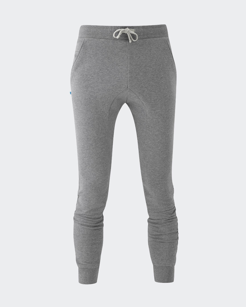 Warrior Addict eco-warrior sweat pants in grey front view