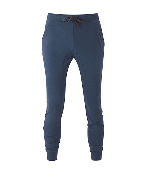 Blue Mens Yoga Pants