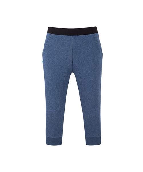 Men's Yoga Capri Pants Blue