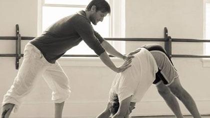 Byron De Marse Yoga Class