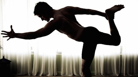 Byron De Marse Yoga Pose