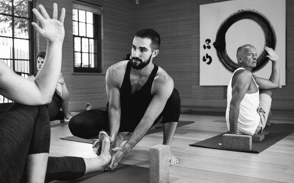 james rafael yoga class