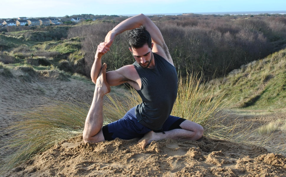 james rafael yoga pose