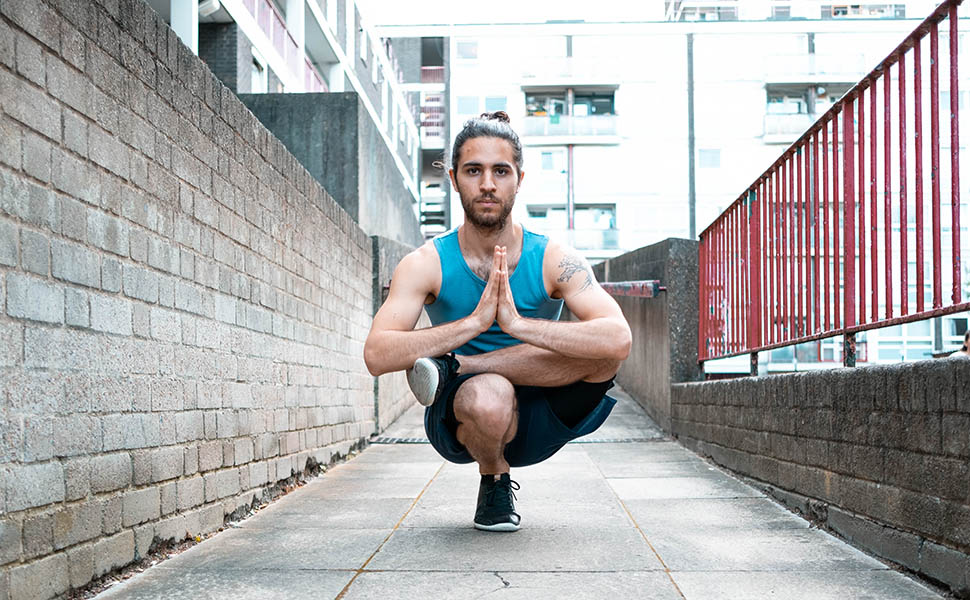 Yoga Teacher Joa Gomez - Toe Pose