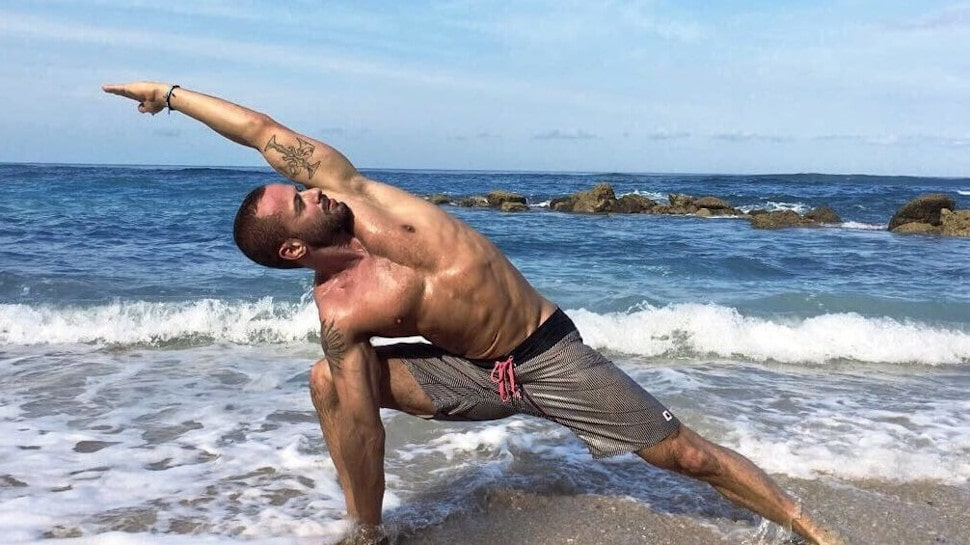 caleb jude packham beach yoga