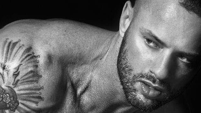 caleb jude packham modelling shot